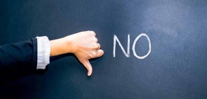 People Saying NO