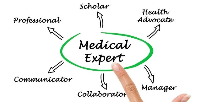 Human doctors and expert systems